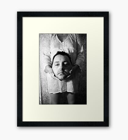 Don't Lose Your Head Framed Print