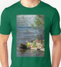 bottles damage river after flood T-Shirt