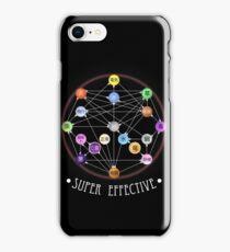 Pokemon Super Effective Type Chart iPhone Case/Skin