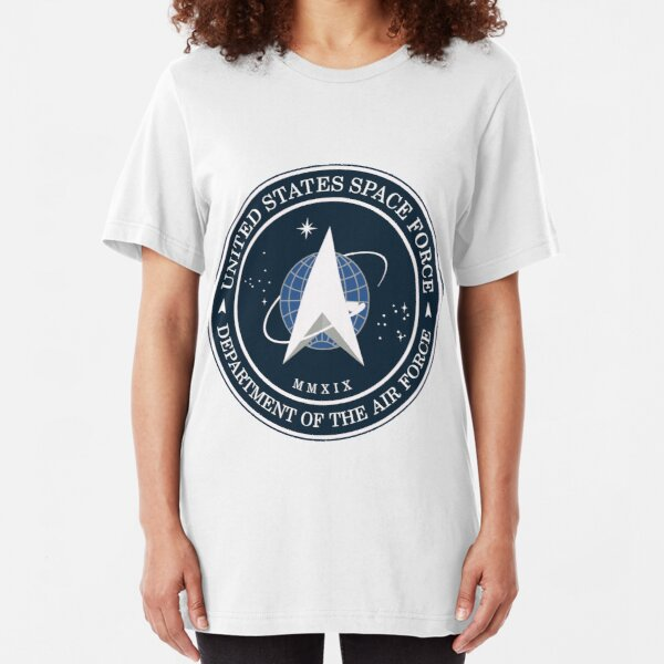 US Space Force Logo Slim Fit T-Shirt