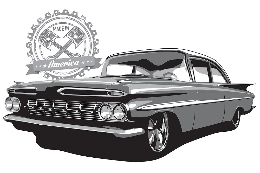 1959 Chevrolet Impala - Made in America by 6thGear