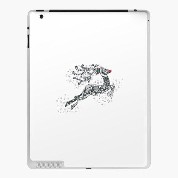 Doodle art Rudolph iPad Skin