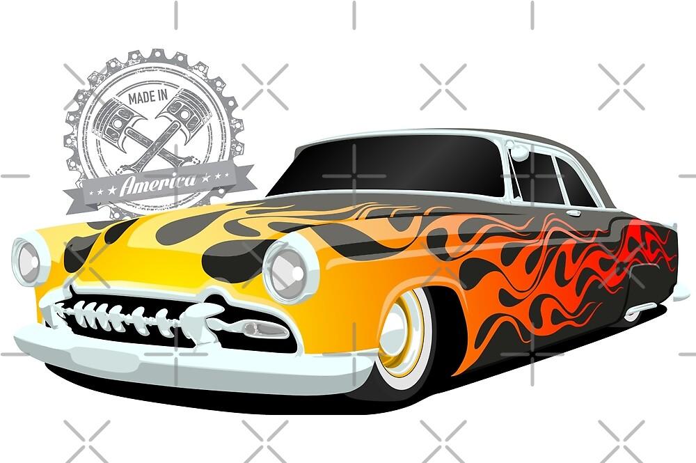 Mercury Lead Sled Hot Rod - Made in America by 6thGear