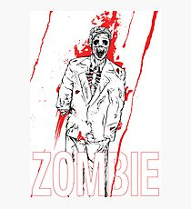 Zombie Office party Photographic Print