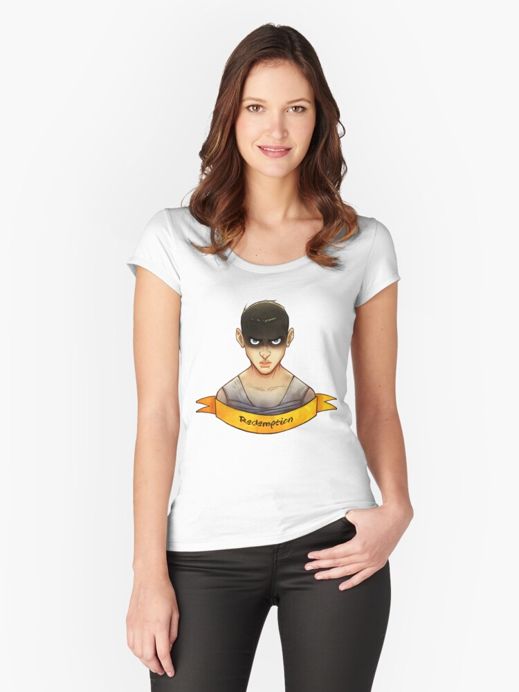 Imperator Furiosa Women's Fitted Scoop T-Shirt Front