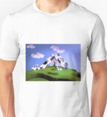 Cow Slide Unisex T-Shirt