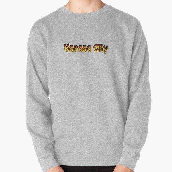 Kansas City, Retro Pullover Sweatshirt