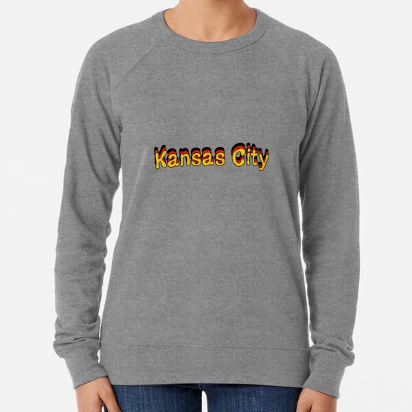 Kansas City, Retro Lightweight Sweatshirt