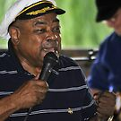"Blues Legend Tommy ""Cryin'"" Brown by Ed Silvera"