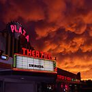 The Plaza Theater/SkyOn Fire by Ed Silvera