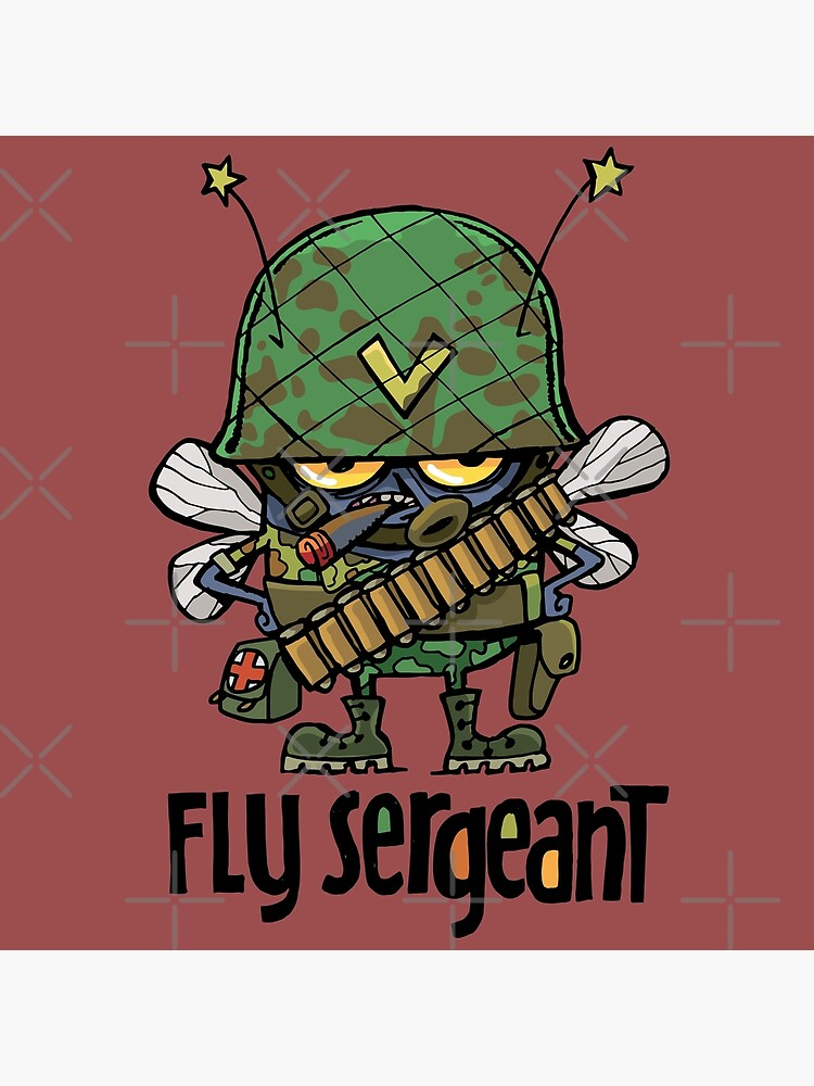dirty bad and evil Fly Sergeant by duxpavlic