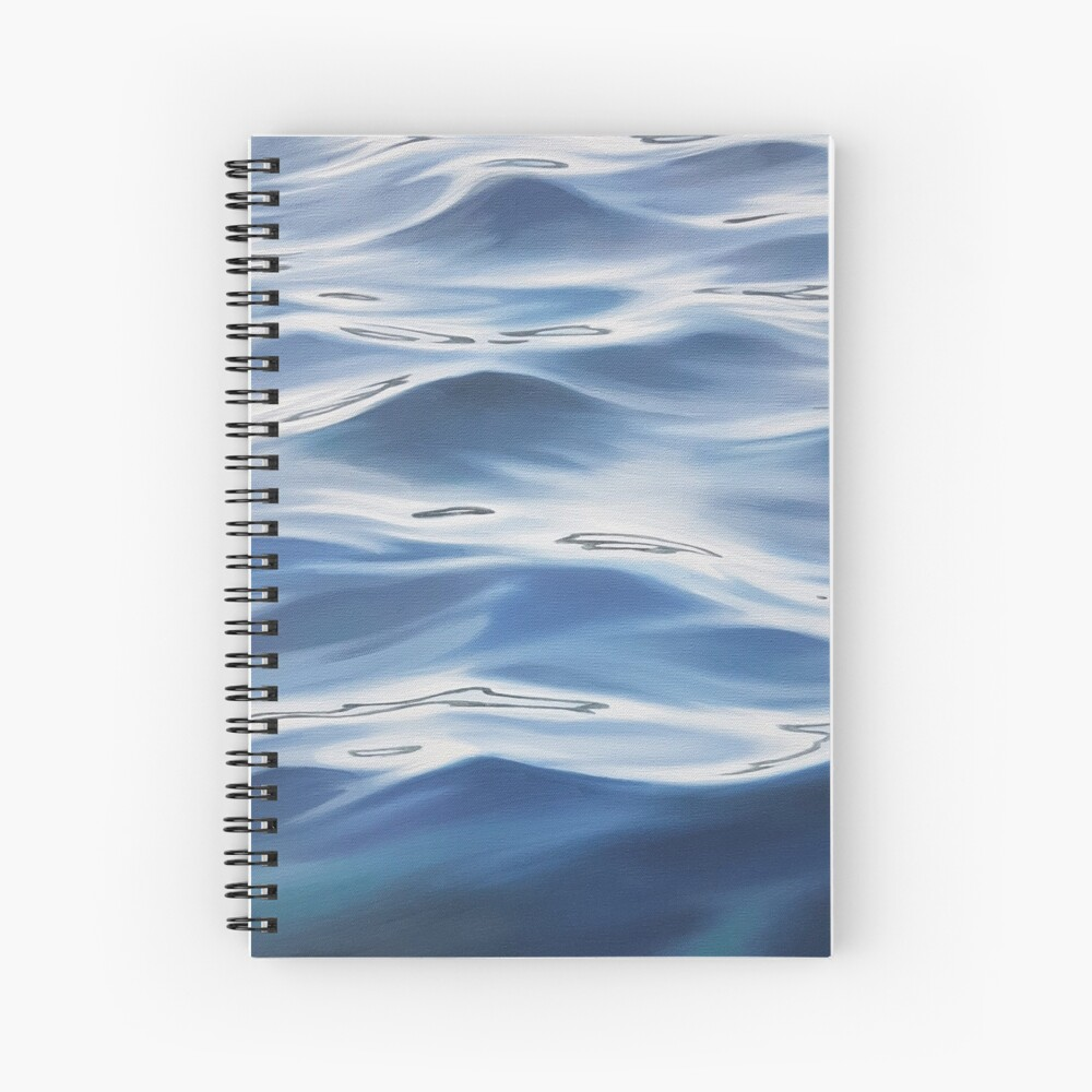 Accord - water painting Spiral Notebook