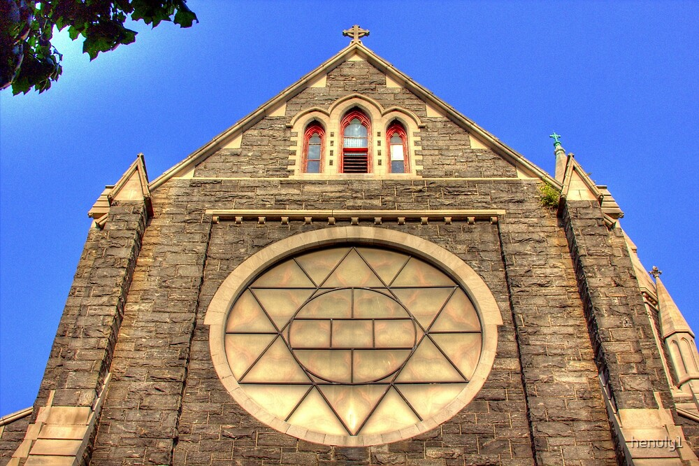Our Lady of Victory church by henuly1