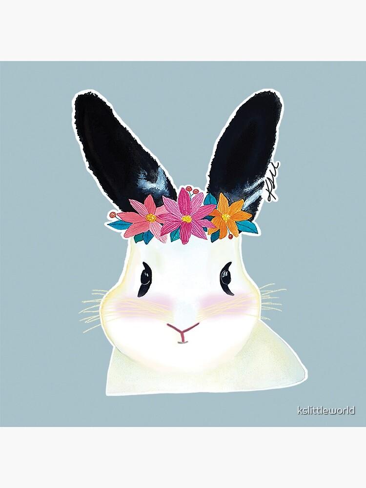 Mochi the bunny by kslittleworld