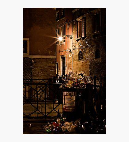 Gathering Place- Venice Trash Photographic Print