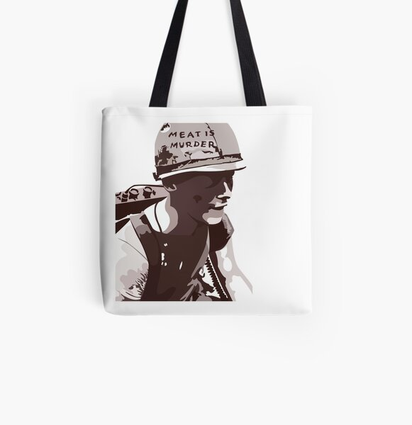 Meat Is Murder - The Smiths All Over Print Tote Bag