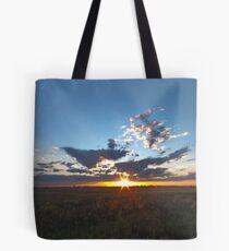Moosecreek sun down - HDR Tote Bag