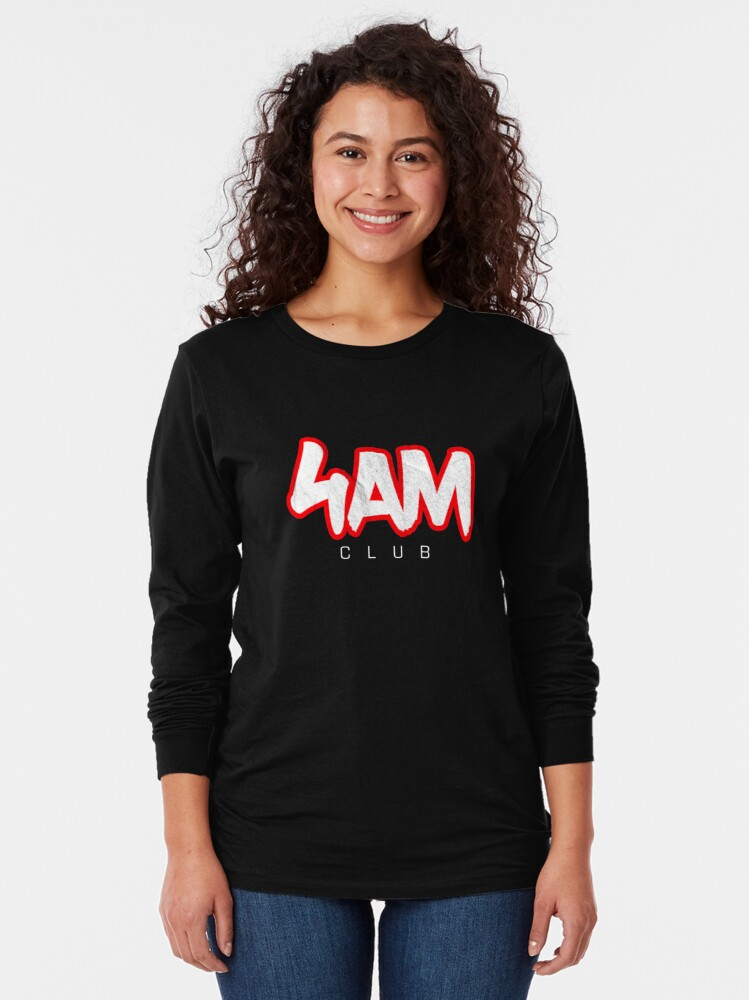Alternate view of Gym Workout Motivation - Personal Trainer Coach - 4AM  Long Sleeve T-Shirt