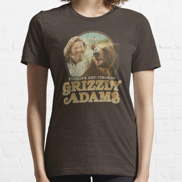 La vie et l'époque de Grizzly Adams T-shirt essentiel