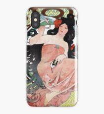 Alphonse Mucha - JOB rolling papers advertisement iPhone Case/Skin
