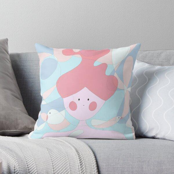 Sea fairy Throw Pillow