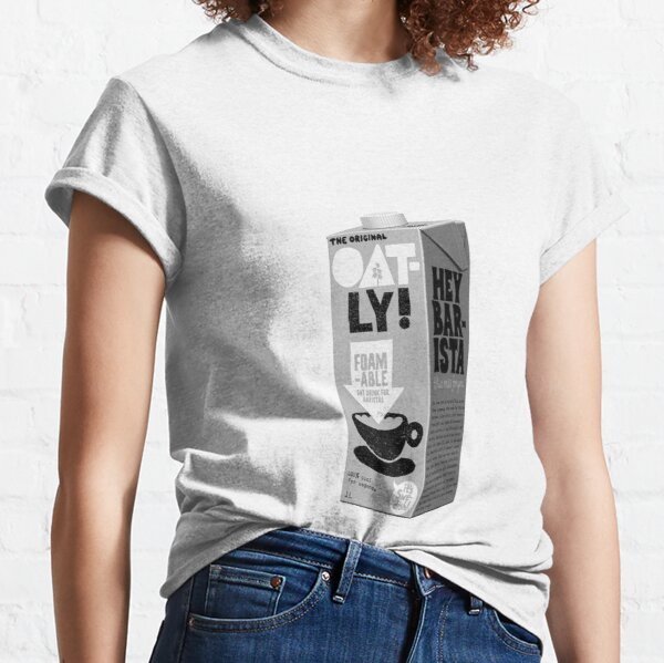 Oat Milk Barista Vegan Classic T-Shirt