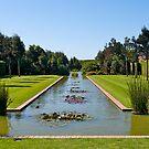 Formal garden, Christchurch, New Zealand. by johnrf