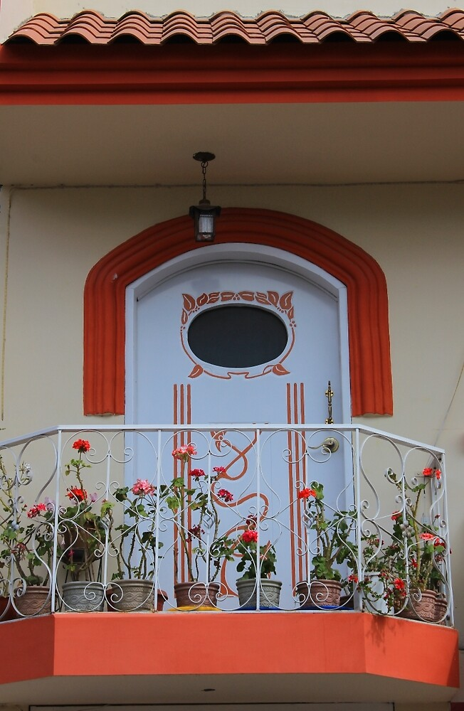 Balcony With Plants by rhamm