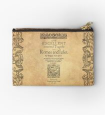 Shakespeare, Romeo and Juliet 1597 Studio Pouch