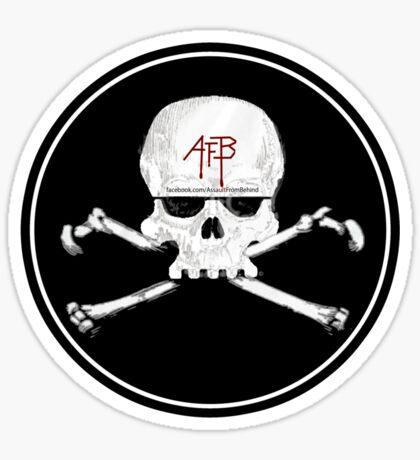 Assault From Behind - Skull Sticker