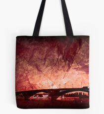 Sunset over Mainz Tote Bag