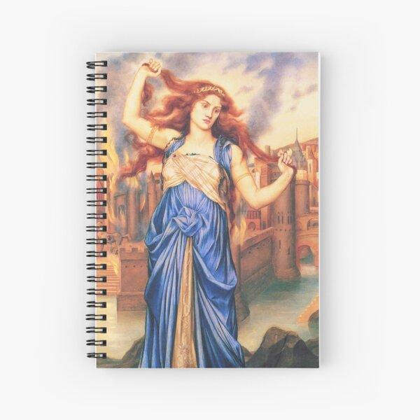 Cassandra Griechische Göttin Spiralblock