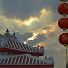 Chinese sunset by Federico Del Monte