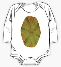 Fall Blossom Fractal One Piece - Long Sleeve