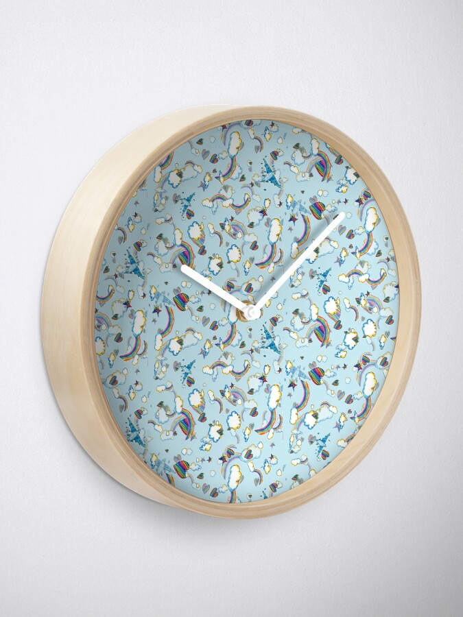 Alternate view of LF '98 in Baby Blue Clock