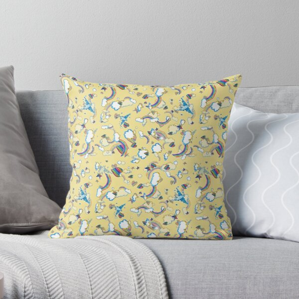 LF '98 in Canary Throw Pillow