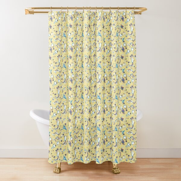 LF '98 in Canary Shower Curtain