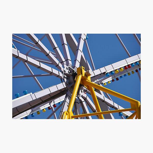 Big Wheel, Luna Park Photographic Print