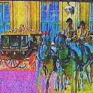 Royal Wedding Tapestry by dtomw