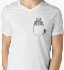 Totoro Pocket, With Little Totoro's Studio Ghibli T-Shirt