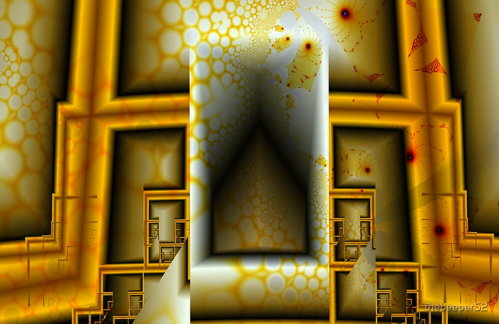 Golden Tower by thebeeper52