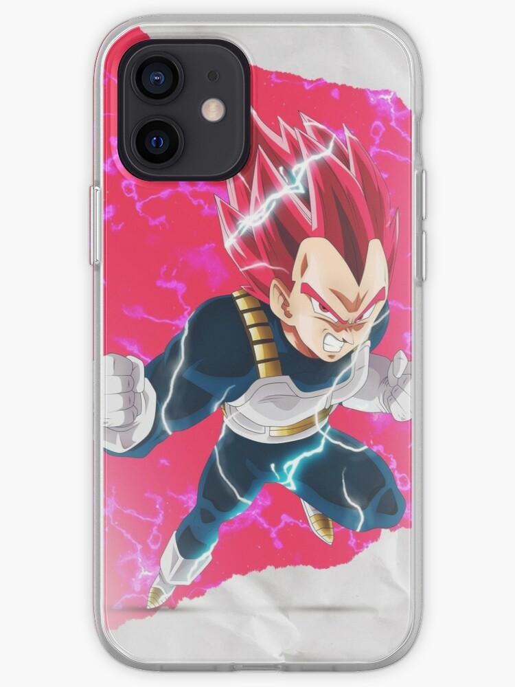 Vegeta super saiyan god - Dragon ball Z - Coque / Stickers   Coque iPhone