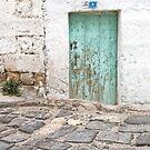 Rustic Door No. 8 by Glennis  Siverson