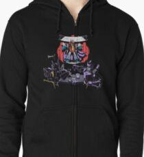 Bad Comedy Zipped Hoodie