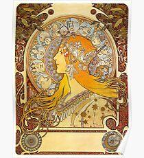 Alphonse Mucha - Zodiac Poster