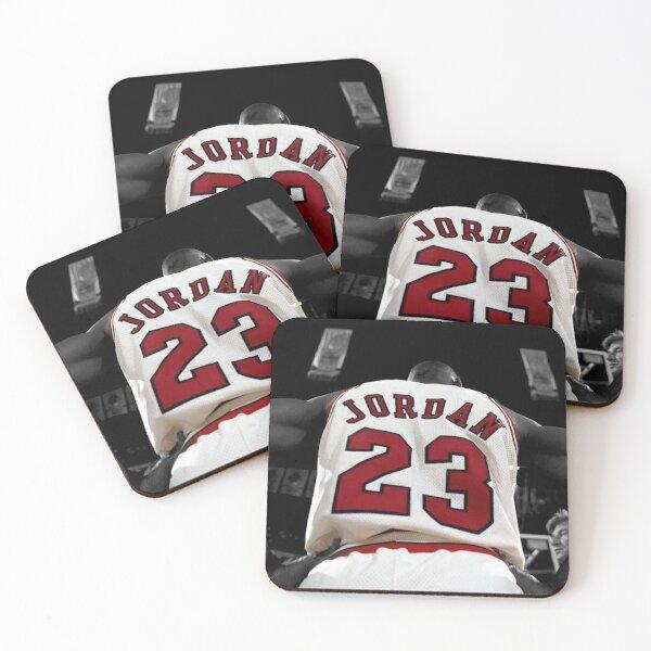 Michael Jordan 23 Coasters (Set of 4)
