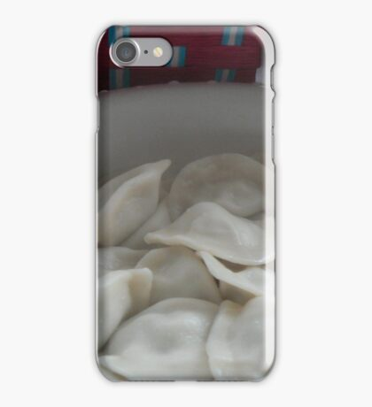 holidays- what we eat    饺  子 iPhone Case/Skin
