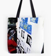 British Patriots Society March Against, Foreign Aid 20/08/11 Tote Bag