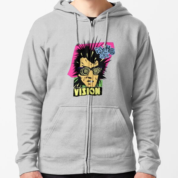 Vision Psycho Stick Zipped Hoodie