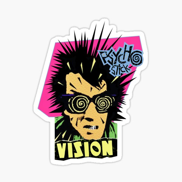 Vision Psycho Stick Sticker